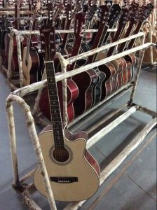 Aiersi Factory Wholesale Cheap Srudents Colourful Electrical Acoustic Guitar Sg028c pictures & photos