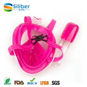 Full View Snorkeling Mask with Free Breathing Snorkel Goggle pictures & photos