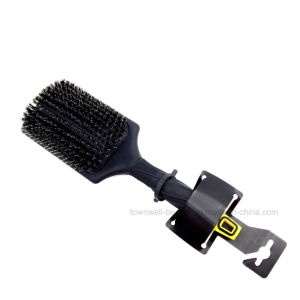 Oval Cushion Brush Boar Bristle with PA66 Nylon Good for Massage pictures & photos
