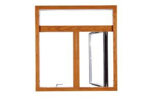 Aluminum Composite Wood Casement Windows pictures & photos