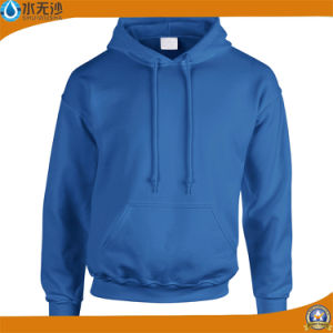 Factory OEM Men Sweatshirts Cotton Plain Color Fleece Hoodies pictures & photos