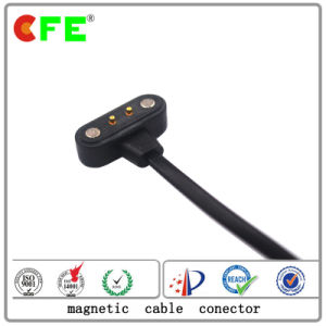 2pin Waterproof Magnetic Power Connector with Cable in Servo Motor pictures & photos
