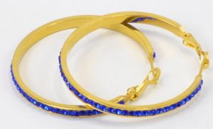 Wholesale Hot Sale Stainless Steel Self Piercing Hoop Earrings pictures & photos