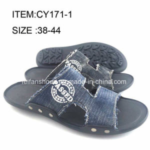 Latest Design Men Comfortable Beach Sandals Casual Slippers (FFCY0411-05) pictures & photos