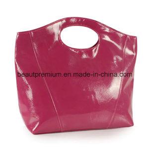 Rose Red Fashion PU Handbag L′oreal Audit Factory Women Handbag BPS044