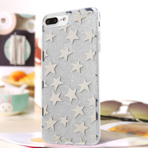 I7 Cell Phone Case Fashionable Pattern Design TPU Flash Powder Case pictures & photos