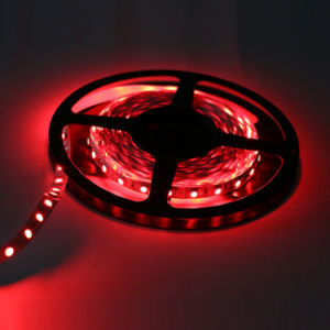 Red Color IP65 SMD5050 Chip 60leds 14.4W DC12V LED Strip pictures & photos