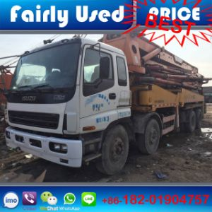 Used Sany 42m Truck Mounted Concrete Pump Truck with Isuzu pictures & photos