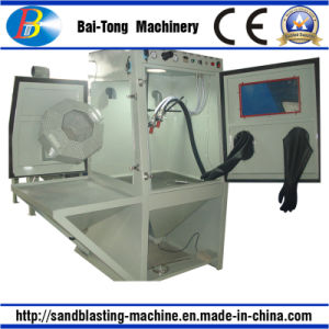 Roller Basket Type Sandblasting Machine Sandblasting Cabinet Sandblaster pictures & photos