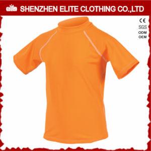 Orange High Quality Half Sleeve Kids Rash Guard (ELTRGI-51) pictures & photos