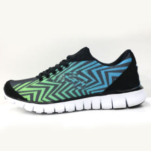 100% Quality Guarantee Fluorescent Neutral Running Shoes pictures & photos