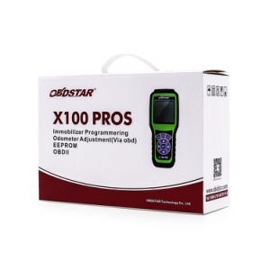 Obdstar X100 Pros D Type for Odometer and OBD Software Function pictures & photos