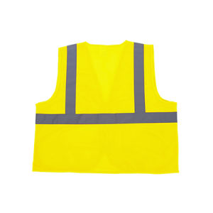 Hi Visible Reflective Warning Mesh Security Vest Zipper pictures & photos