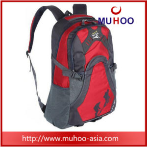 Red Waterproof Travel School Laptop Sports Bag Hiking Backpack pictures & photos