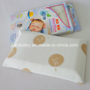 Memory Foam Baby Pillow with Breathable Knitting Cover pictures & photos
