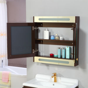 24′′ Espresso Painted Waterproof Wall Mounted Bathroom Cabinet Unit pictures & photos