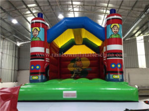 Attractive Theme Inflatable Car Bounce House School Bus Bouncy Castle pictures & photos