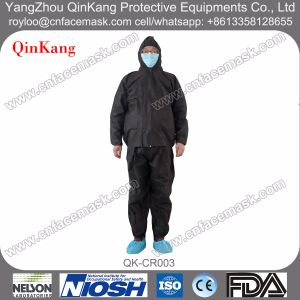 2PCS Jacket & Trousers Medical Isolation Protective Coverall pictures & photos
