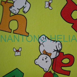 PVC Vinyl Sponge Sheet for Making Table Cloth pictures & photos