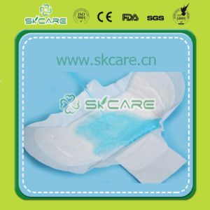 Fast Absorption Disposable Cotton Sanitary Towel pictures & photos
