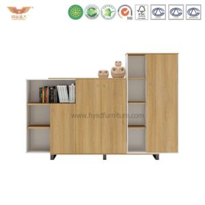 Melamine Office Storage Cabinet Bookcase Furniture File Cabinet (H90-0602) pictures & photos