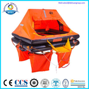 Throw-Overboard Self-Righting Inflatable Liferaft With CE (GL) Certification Type UZ pictures & photos
