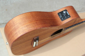 Hanhai Music/34′′ Acoustic Guitar with Fishman Pickup pictures & photos
