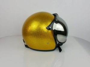 Metal Flake Helmet for Scooters pictures & photos