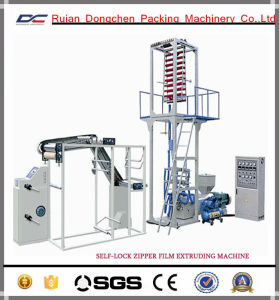 Self Lock Zipper Film Extruding Machine for Packing Bags (DC-BC500) pictures & photos