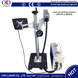 Fly One Line Laser Machine for Marking Water Pipe Connector Quickly pictures & photos