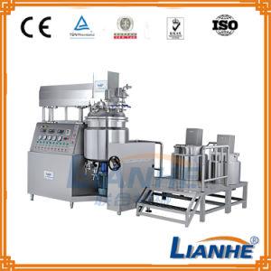 High Efficiency Vacuum Emulsifying Mixing Tank with Homogenizer Emulsifier pictures & photos