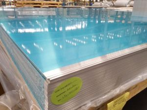 1050/1060/1100 Aluminium Flat Sheet Plate with PVC pictures & photos