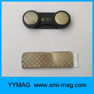 Repeatable Plastic Neodymium Magnetic Name Badge pictures & photos