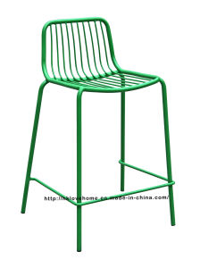 Replica Metal Dining Stackable Side Bar Wire Bar Chair pictures & photos