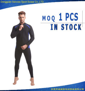 Cheap 2 Pieces Neoprene Man′s Long Sleeve Diving Surfing Suit pictures & photos