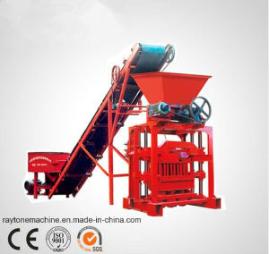 Qtj4-35b2 Concrete Cement Block Making Machine Brick Machinery pictures & photos