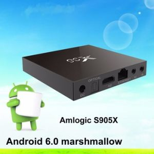 Dragonworth OEM ODM Android 6.0 TV Box Amlogic S905X TV Box X96 Paypal Aceept pictures & photos