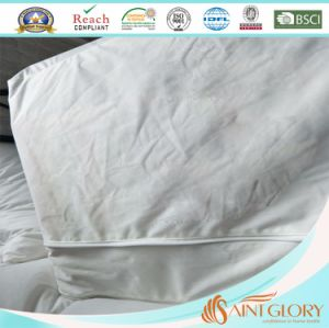 Knitted Jersey Double Zippers Mattress Protector pictures & photos
