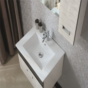 Wall-Mounted Modern Cabinet Series Multi-Layer Solid Wood Bathroom Vanity pictures & photos