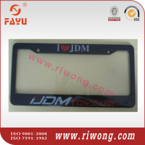 Personalized Your Own Plastic License Plate Frames pictures & photos
