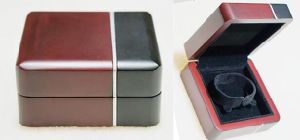 Two Clours Wooden Bangle Box pictures & photos