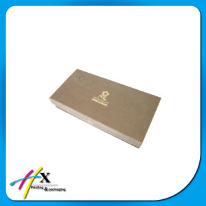 Folding Matt Gold Paper Gift Box pictures & photos