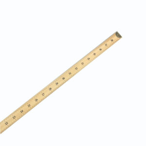 1m 100 Cm Straight Wood Ruler pictures & photos