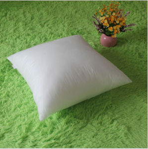 White 3D Siliconized Fiber Filling Throw Pillow for Insert pictures & photos