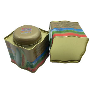 Irregular Shape Airtight Lid Tin Box Seed Tin Can Container for Vegetable Seed pictures & photos