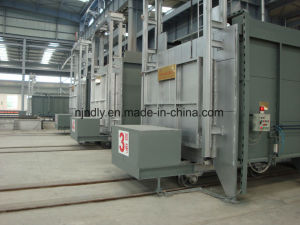 Bogie Hearth Annealing Furnace for Mill Roller pictures & photos