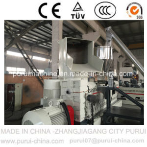 Water Cooled Plastic Waste Recycling Machine for Both Film & Flakes pictures & photos