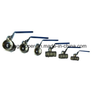 Brass Ball Valve with Lockable Handle pictures & photos
