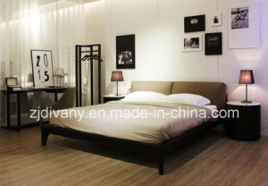 2016 Modern Style Bedroom Leather King Bed (A-B39) pictures & photos