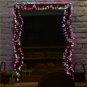 New Product Double Colors LED Christmas Decoration Firecracker String Light pictures & photos